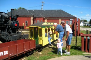 Dinky Train Rides for children