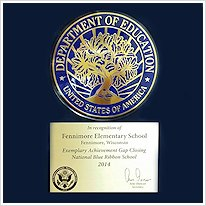 Fennimore Elementary - 2014 Excellence in Education Award