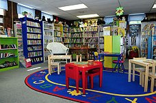 Children's area of library