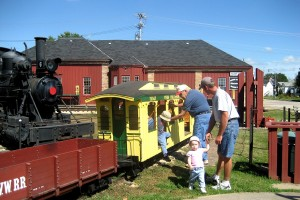 Dinky Train Rides at Railroad Museum