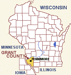 Fennimore Location Map