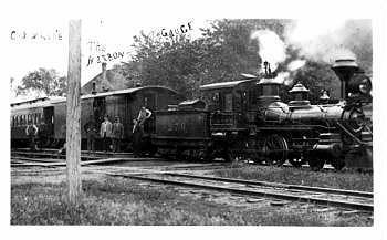 Old Number 278 Narrow Gauge Steam Engine