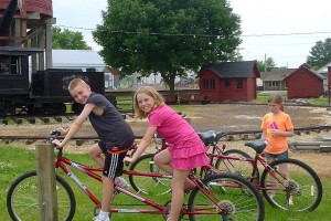 Dinky Bike Trail begins at Railroad Museum