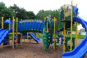Marsden Park play equipment