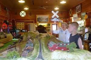 Inside the Fennimore Railroad and Historical Society Museum
