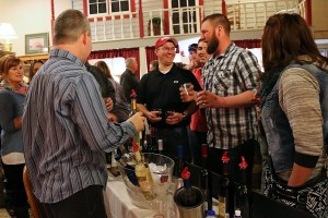 Taste of Fennimore - Wine tasting - Photo by Barb Romberg