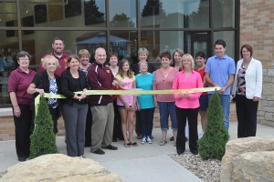 Chamber Ambassadors at School Improvement Project Dedication August 2015