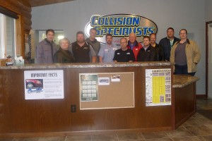 CARE Call at Collision Specialists after completion of remodeling project