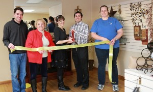Simply Posh Ribbon Cutting