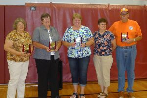 Citizens of the Year - Connie Neal and Ingeborg Froiland; Business of the Year - Good Samaritan Society, Karla Witzig, Administrator; Family of the Year - Karla and Rob Rands