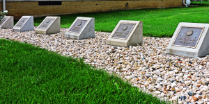 Veteran Dedication Stones