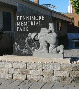 Veterans Memorial Park entrance