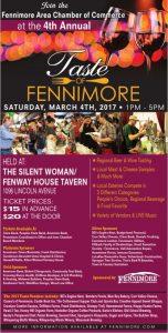 2017 Taste of Fennimore Poster