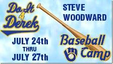 2017 Steve Woodard and DoIt4Derek Baseball Camps