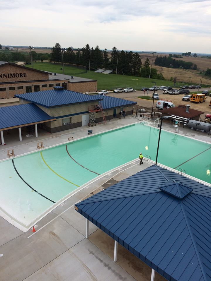 New Community Swimming Pool Fennimore Wi