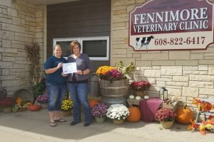 1st Place Fall Decorating Contest - Fennimore Vet Clinic