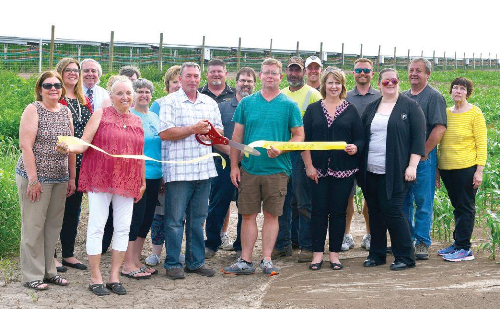 Solar Farm Ribbon Cutting 2019