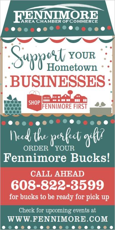 Fennimore Bucks make great gifts