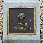 WWII Veterans Stone