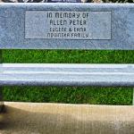 In Memory of Allen Peter Bench
