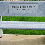 Dallas & Helen and Family Croft Bench