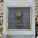 Honor All Veterans Stone