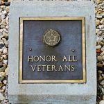 Honor All Veterans Stone