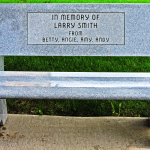 In Memory of Larry Smith Bench
