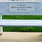 In Honor of Ralph & Helen Cairns Bench
