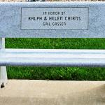 In Honor of Ralph & Helen Cairns Bench
